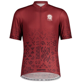 Maloja GuaudM. 1/2 Shortsleeve Bike Jersey Men red monk